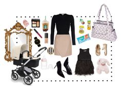 """""""fashion forward mom"""" by thebumblecollection on Polyvore featuring Bumble Collection, Howard Elliott, Larsson & Jennings, Milly, Michael Kors, NARS Cosmetics, Bobbi Brown Cosmetics, Carven, Henri Bendel and Gerber"""