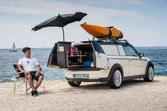 MINI luxury campers, Mini Clubvan Camper, MINI campers, MINI Cowley, MINI Countryman ALL4 Camp, camping, battery powered cars, plug-in cars,...