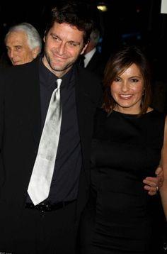 Peter and Mariska; black dress