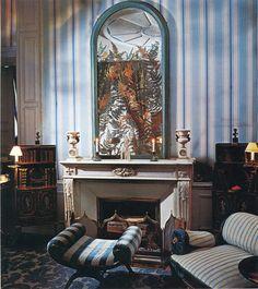 Paris home of Madeleine Castaing. Photo AD Italia