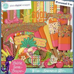 With Sprinkles Kit by Digital Gator Designs @Plaindigitalwrapper.com