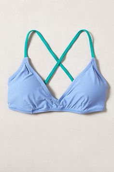 Mix & Match French Bikini Top - anthropologie.com