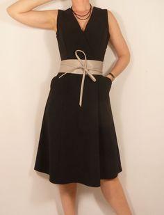 Voici Fuschite, le dernier patron d'Histoire de coudre, une jolie robe que j'aime beaucoup porter hiver comme été !
