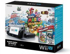 Nintendo Wii U Deluxe Set: Super Mario 3D World and Nintendo Land Bundle - Black - https://dealpursue.com/nintendo-wii-u-deluxe-set-super-mario-3d-world-and-nintendo-land-bundle-black/ Save $3.00 – Nintendo Wii U Deluxe Set: Super Mario 3D World and Nintendo Land Bundle – Black. List: $329.99. Price: $326.88 (You Save 1%)