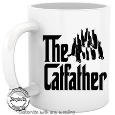 The Catfather Gift For Cat Lover Father Dad Christmas Ideas Crazy