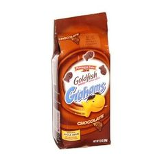 HEALTHY SNACK: PEPPERIDGE FARM CINNAMON GRAHAMS GOLDFISH CRACKERS  For a fun twist on an old crunchy favorite try the Cinnamon Grahams Goldfish Cracker. No need to go fishing for a low-calorie crunchy snack when 50 of these crackers are only 140 calories.  Calories: 140