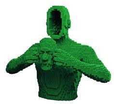 Lego sculptures by Nathan Sawaya - Telegraph