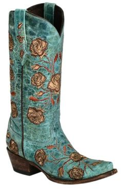 Lucchese Roses  amp  Thorns Embroidered Cowgirl Boots - Snip Toe available  at  Sheplers Western 9c1eab170973