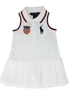 $29.99  -  Your daughter would look so cute in this Ralph Lauren Infant Girl's 2 Piece Big Pony Ruffle Dress USA RALPH LAUREN http://www.amazon.com/dp/B00ML3RTR6/ref=cm_sw_r_pi_dp_PFCaub044X0X2