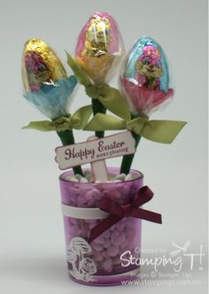 Video tutorial for creating a Pot of Easter  Eggs.