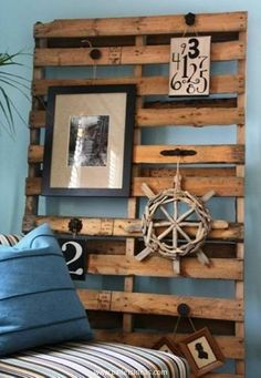 Pallet Wall Decorating