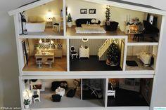 dollhouse, dollhouse, Lundby, Christmas decorations, Christmas