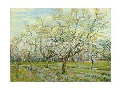 The White Orchard, 1888 Landscapes Giclee Print - 61 x 46 cm