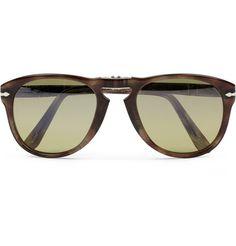 Persol Foldable 714 Polarised Acetate Sunglasses