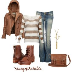 Leather Hoodie - Polyvore
