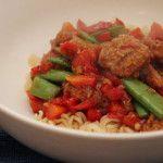 Vegetarische noodles