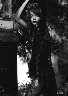 """Cementery"" by Sarah Storch for RUDE Magazine www.rude-magazine.com/lastissue"