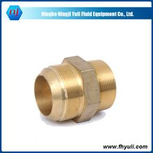 Hydraulic Brass Adapter, Hydraulic Brass Adapter direct from Ningbo Ningji Yuli Fluid Equipment Co., Ltd. in China (Mainland)