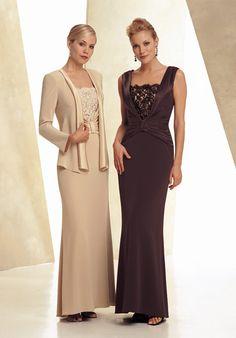 Prachtige jurken van soepel satijn. Verkrijgbaar in alle kleuren en maten.