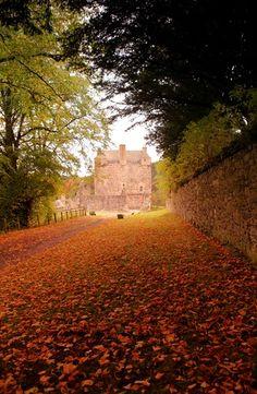 Castillo Neidpath, Escocia.