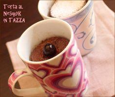 Torta al nesquik 5 minuti: torta in tazza o Mug Cake al nesquik