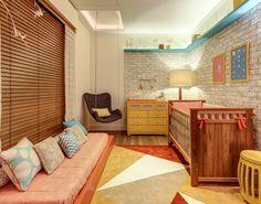 quarto bebe tijolinho branco moderno casa cor ecobrick
