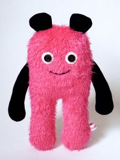 "Kuscheltier Monster ""WHOOSH"" Kinder // Cuddle-monster Kids by Bombole via DaWanda.com"