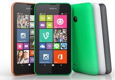 Nuevo terminal de gama baja de Microsoft: Lumia 530.  Tendrá un precio de menos de 100 euros y primero lo comercializarán en Europa, para después lanzarlo en el resto del mundo.