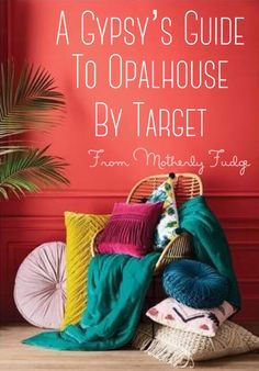 Like the vividly illustrated pages of a fairytale being brought to life, Target has delighted us once again with another bold, eclectic line of items for the home that are sure to ignite the wander…