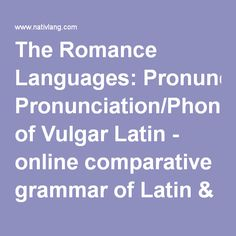 1055 Best Romance Languages Images In 2019 Languages English