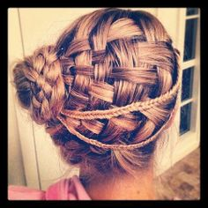 Basket Weave...this is really cool but it almost looks like a waffle and lesbihonest waffle weave sounds cooler than basket weave xD