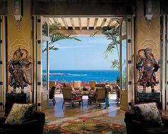 Four Seasons Resort Hawaii Lanai at Manele Bay in Lanai City, United States at Hotels of the Rich and Famous Porches, Hawaii Resorts, Hawaii Vacation, Dream Vacations, Vacation Spots, Vacation Ideas, All Inclusive Honeymoon, Honeymoon Destinations, Bay Photo