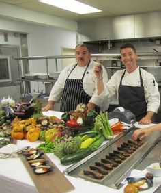 Chef Andrew Cooper from Terra made our Culinary Bootcamp an extraordinary experience.