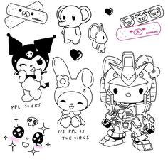 Dr Tattoo, Sick Tattoo, Doodle Tattoo, Cute Tattoos, Body Art Tattoos, Small Tattoos, Tatoos, Trippy Drawings, Cute Drawings