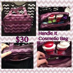 Handle-it Cosmetic bag $30 www.mythirtyone.com/stovert
