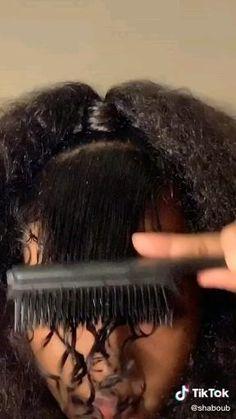 Hair Ponytail Styles, Curly Hair Styles, Natural Hair Styles, Mixed Curly Hair, Curly Hair Tips, Cute Curly Hairstyles, Baddie Hairstyles, 3b Hair, Edges Hair