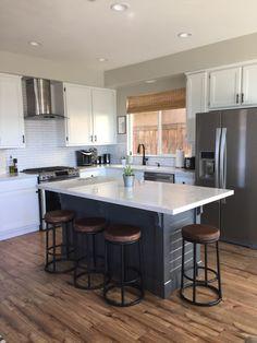 Kitchen Island- Make it yourself! Save Big $$$ | Domestic Blonde