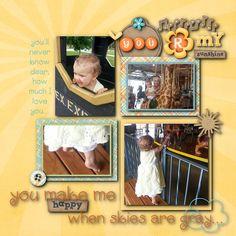You R My Sunshine - Scrapbook.com