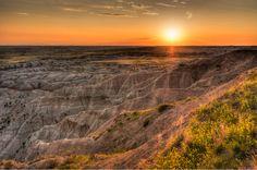 Sunset at Badlands National Park — https://www.etsy.com/listing/219315565/badlands-national-park-poster-national?utm_content=buffer07249&utm_medium=social&utm_source=pinterest.com&utm_campaign=buffer