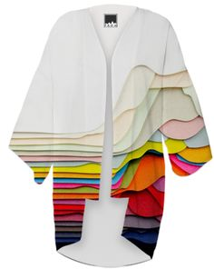 3D Art Kimono from Print All Over Me