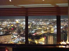 Dinner at the top of the Tower of the Americas. Photo Credit: Kim L.