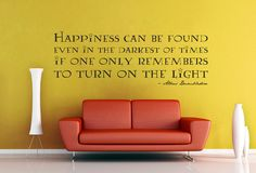 Happiness Can Be Found   Harry Potter Wall Decal