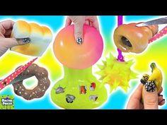 Cutting Open BIG Squishy Surprise Toy! Squishy Bakery Sweets! Mashems & Fashems Doctor Squish - YouTube