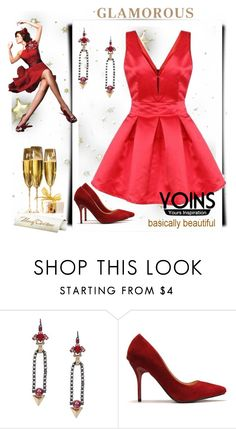 """""""☆★☆★♥What will you think of about YOINS when we refer to Christmas♥★☆★☆"""" by suadapolyvore ❤ liked on Polyvore featuring yoins"""