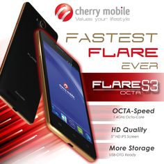 Pinoy Metro Geek: Cherry Mobile Flare S3 Octa-Core Specs now official: 5-inch HD display with better performance at Php 4,499