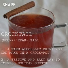7 Low-Calorie Cocktails You Can Make In Your Crock-Pot