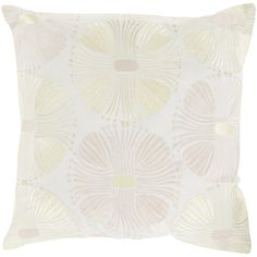 Surya KD Spain 22-inch Poly or Down Filled Damien Allium Pillow