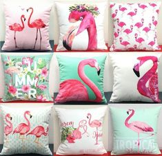 Flamingo Art, Pink Flamingos, Teen Girl Bedding, Dorm Bedding, Bedding Sets, Flamingo Resort, Pillow Covers, Pillow Inserts, Handmade Furniture