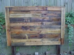 I need this wood foot something other than a headboard. Anything other than a headboard. :-)
