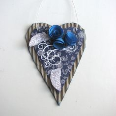 VV 8.A: srdce pro maminku s použitím Capsule Parisian Blue